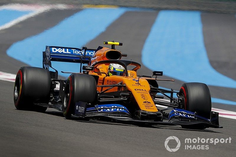 "McLaren destaca ""sobrevivência"" espetacular de Norris no GP da França"