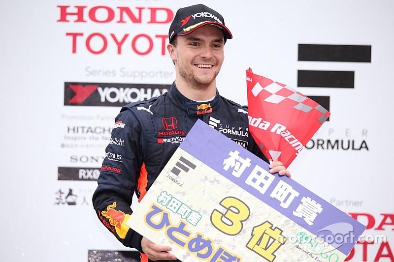 初表彰台のルーカス・アウアー「本当に光栄、チームの皆に感謝」