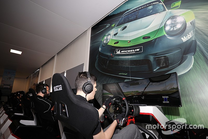 Sfida ad Amato nella seconda della Porsche Esports Carrera Cup Italia a Imola
