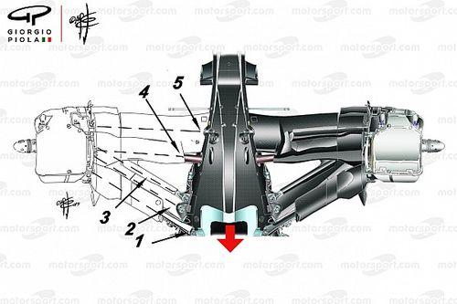 【F1メカ解説】驚速メルセデスの秘密は、リヤサスペンションにあり?