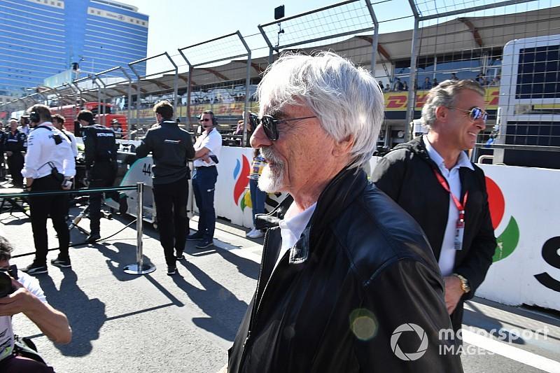 Ecclestone, Pirelli lastiklerini destekliyor