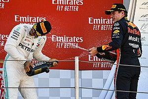 Verstappen sudah lebih baik dari Hamilton
