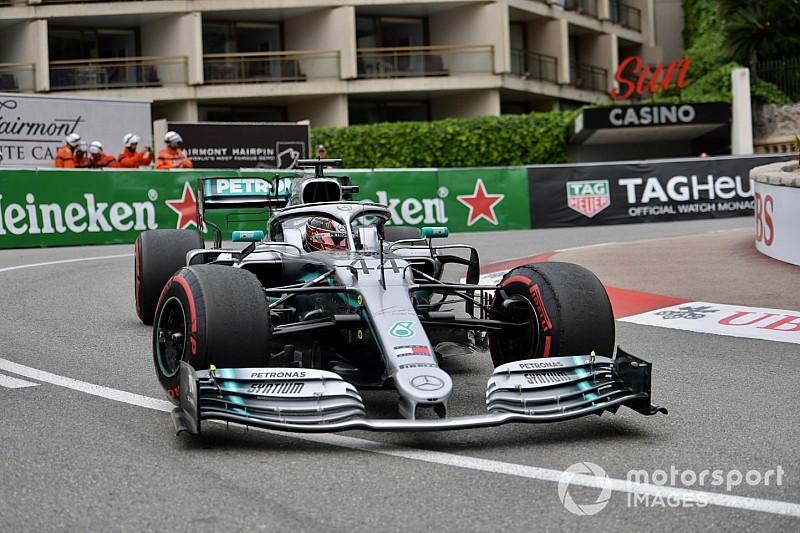 Monaco, Libere 2: Hamilton fa volare le Mercedes, poi c'è Vettel staccato