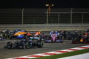 2020 F1 Bahrain Grand Prix race results