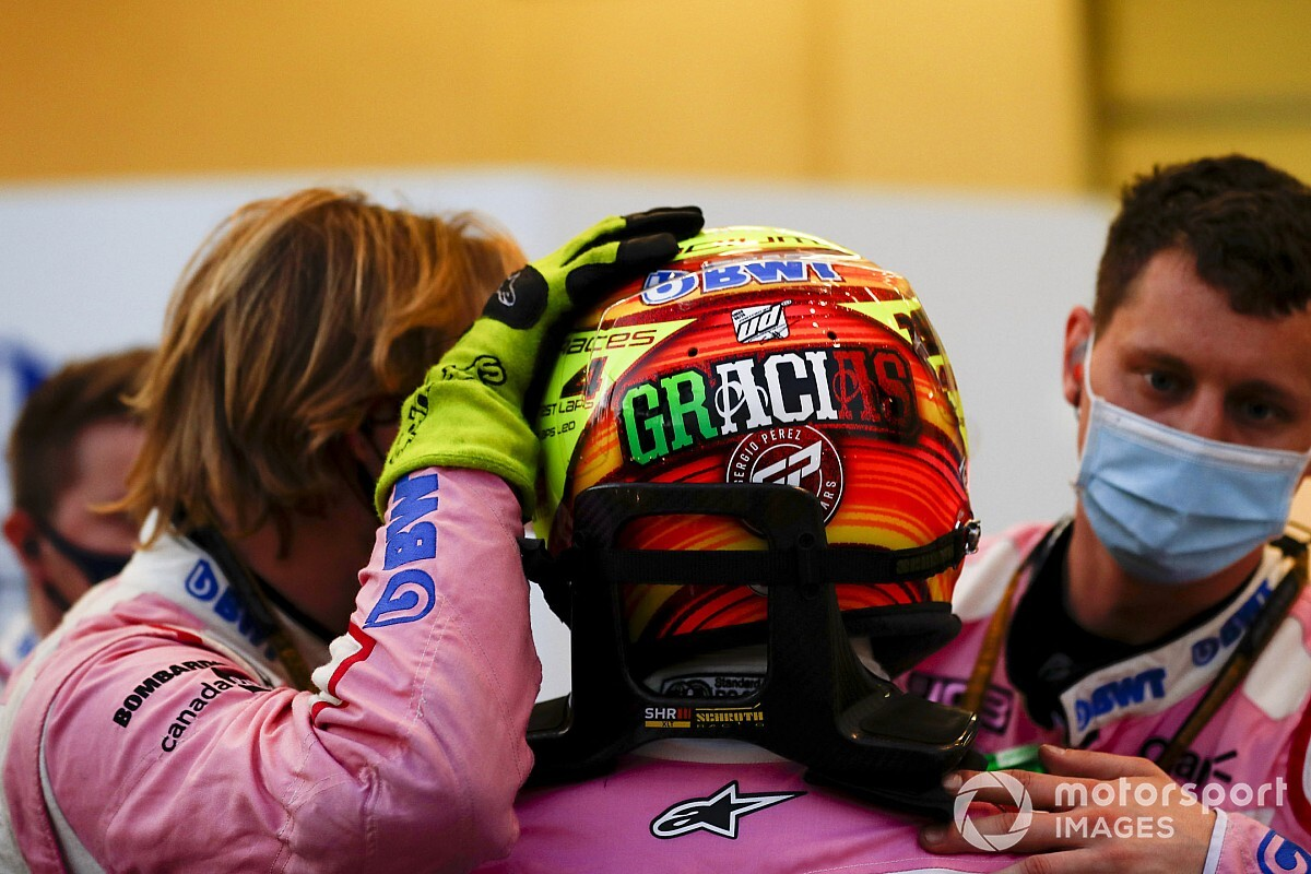 Ez a kép bizonyítja, hogy szent a béke Perez és Vettel között
