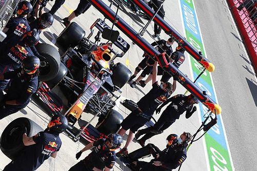 F1: Carro de Verstappen é levado de volta à Red Bull por estrada fora do circuito para evitar paralisação no TL2