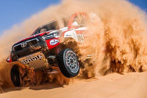 В 5-й день «Дакара» быстрее всех гонщик Toyota – но не тот, что борется за победу