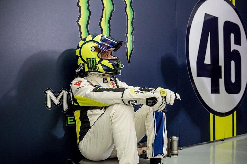 GALERÍA: Valentino Rossi en las Gulf 12h