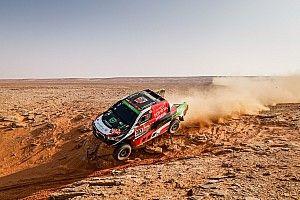 Autos, Étape 10 - Al-Rajhi gagne, Peterhansel contrôle