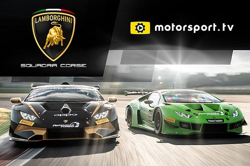 Lamborghini Squadra Corse Luncurkan Channel di Motorsport.tv