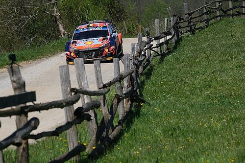 Neuville hindered in Croatia WRC fightback by jack problem