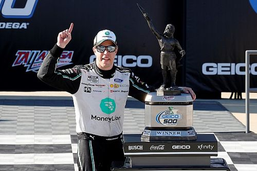 Keselowski uses last-lap pass in OT for sixth Talladega win