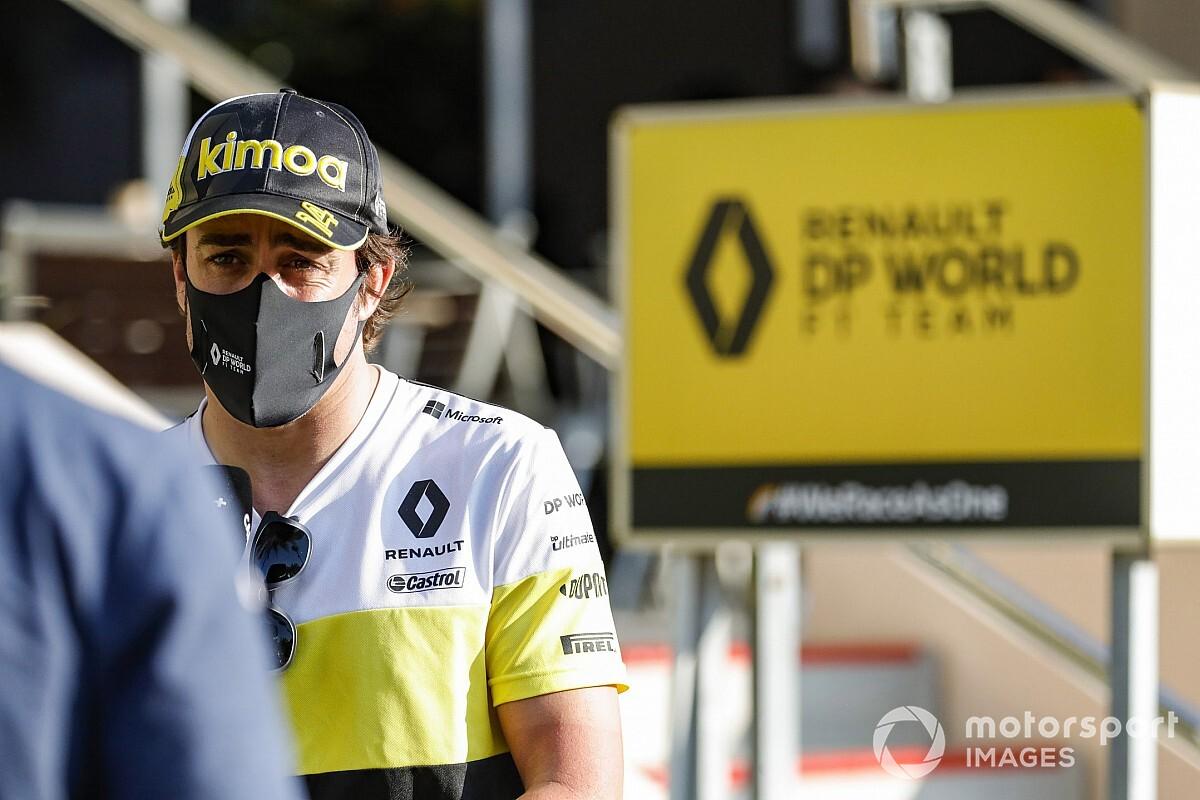 Renault s'amuse de la controverse autour du test d'Alonso