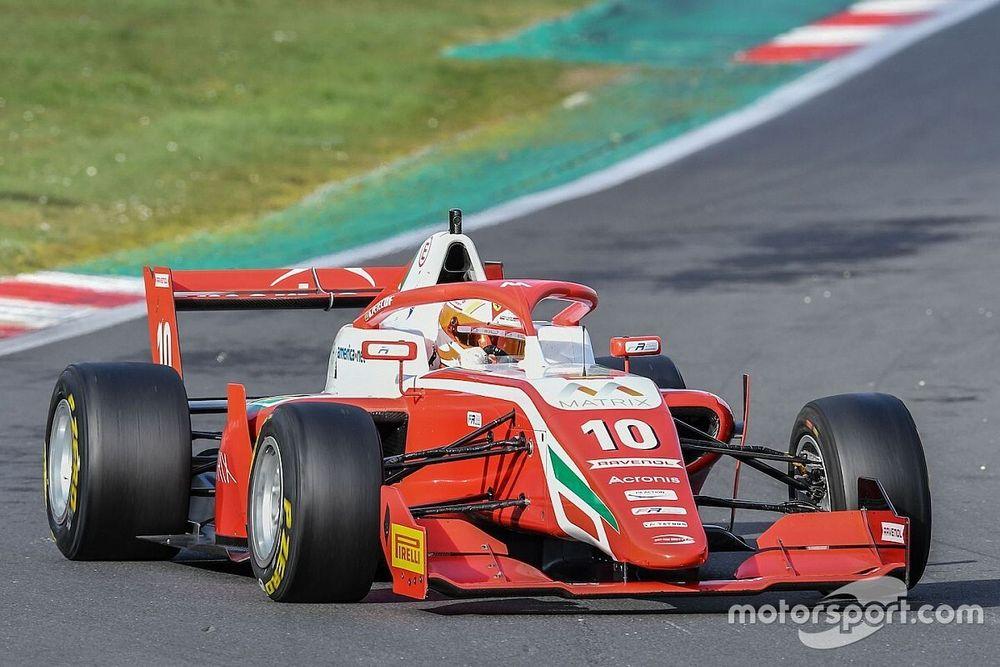 Formula Regional, Vallelunga, Libere 2: Petecof in vetta