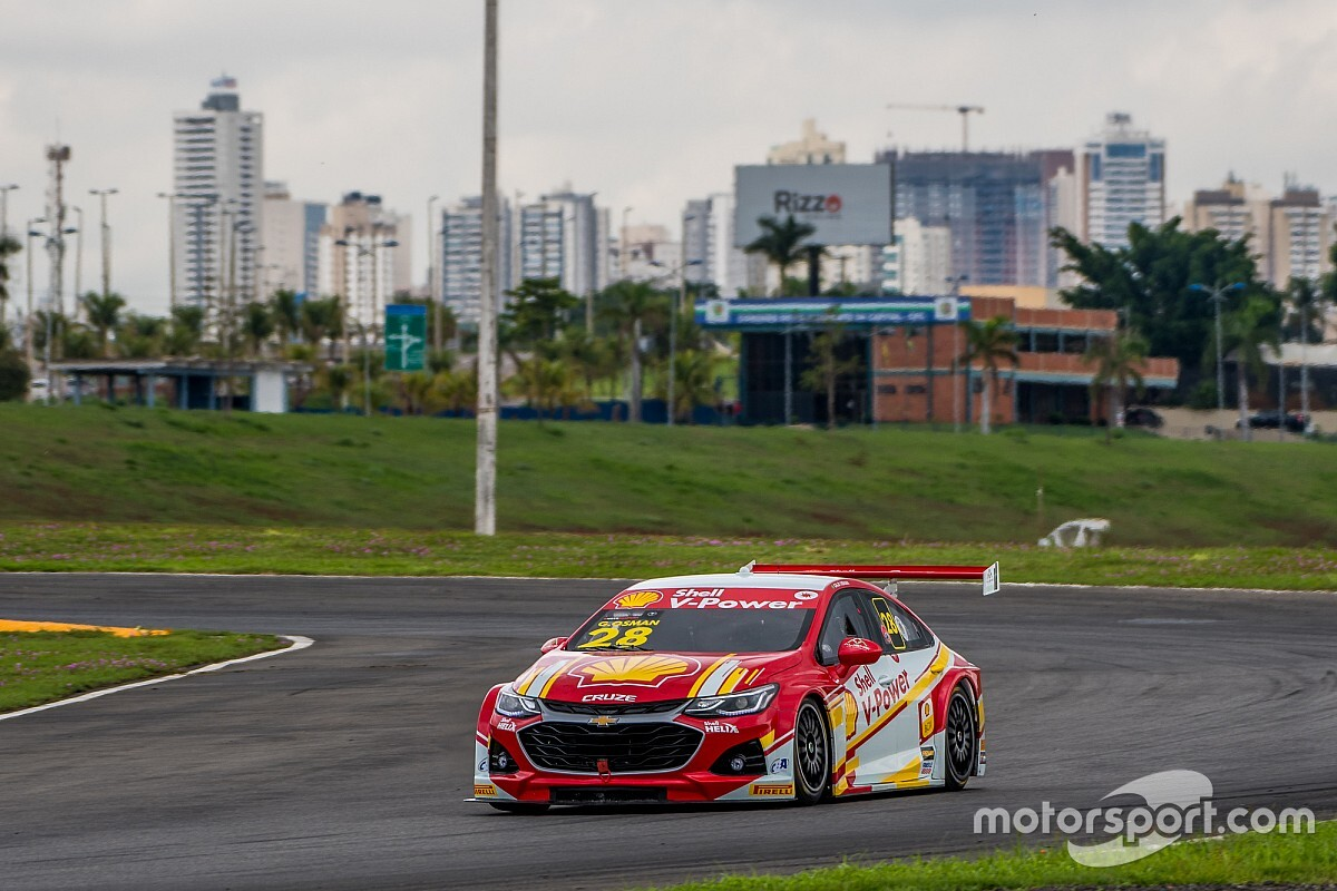 Shell tem Galid Osman Gaetano di Mauro no top-5 em Goiânia