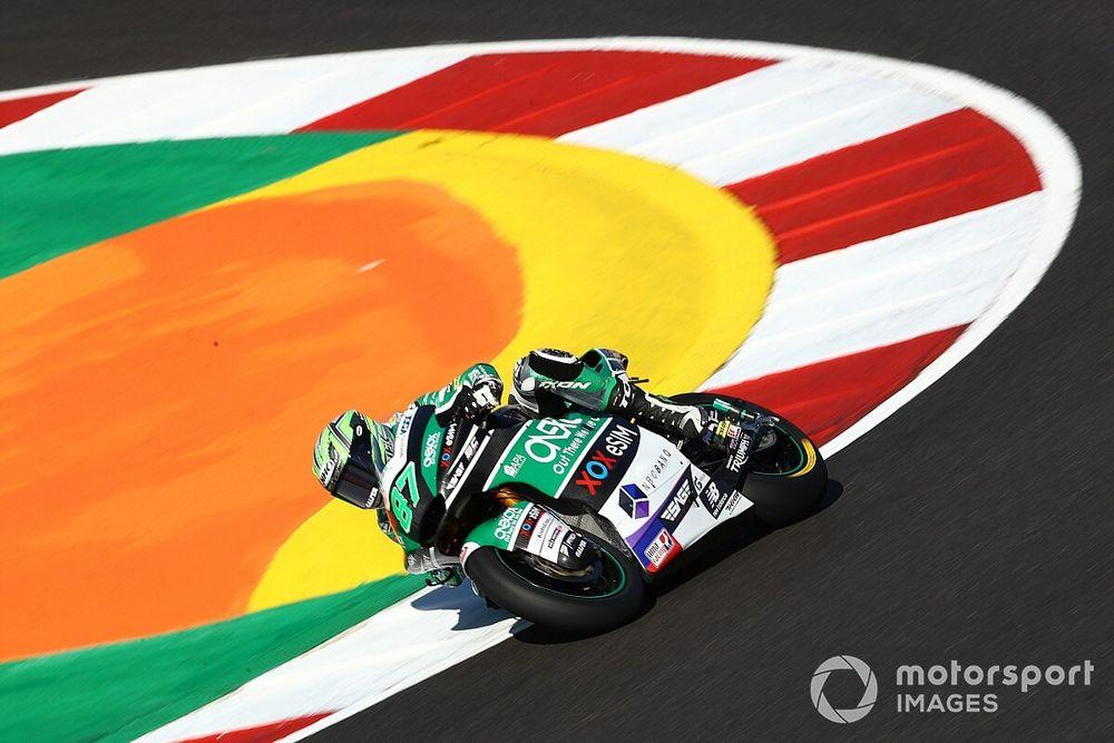 Moto2, Portimao, Libere 3: Gardener 1°, Lowes soffre