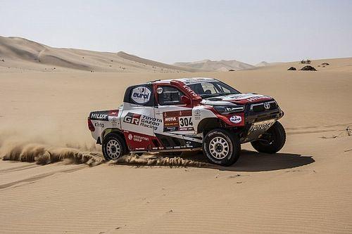 Toyota reestructura su alineación para el Dakar 2021