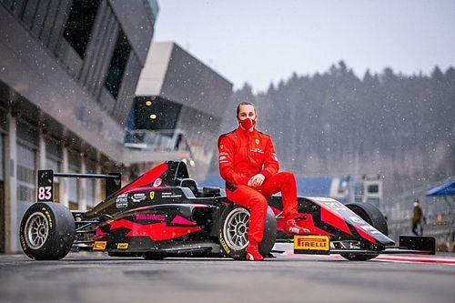 Ferrari-juniore Weug debuteert op Paul Ricard in Formule 4