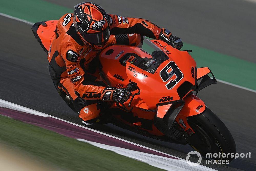 "Petrucci feels he is ""too big"" for KTM MotoGP bike"