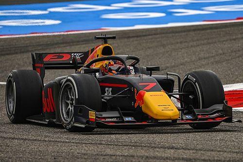 Цунода завоевал финальный поул сезона Ф2, Шумахер попал в аварию