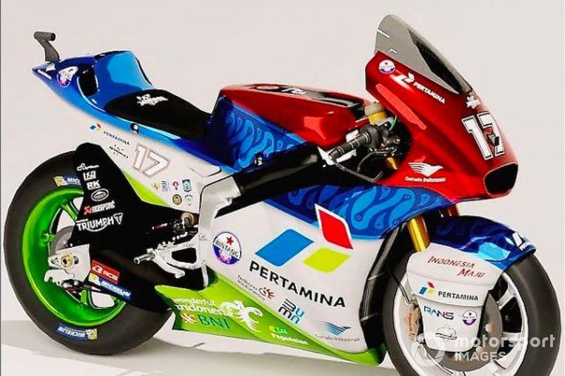 Mandalika Racing Team Indonesia Revisi Livery