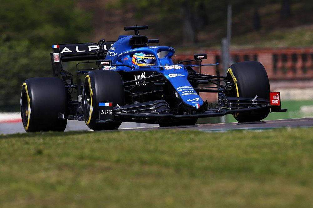 Alonso: Lack of trust in Alpine F1 car costly at old-school Imola
