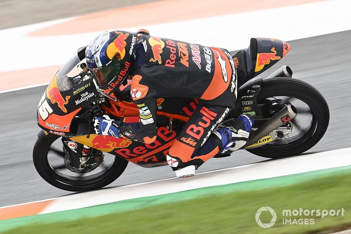 Avrupa Moto3: Fernandez kazandı, Deniz 14. oldu