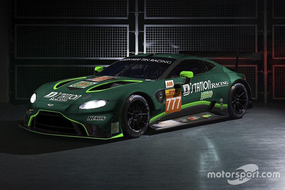 WEC: debutto per la D'station Racing con la Aston Martin
