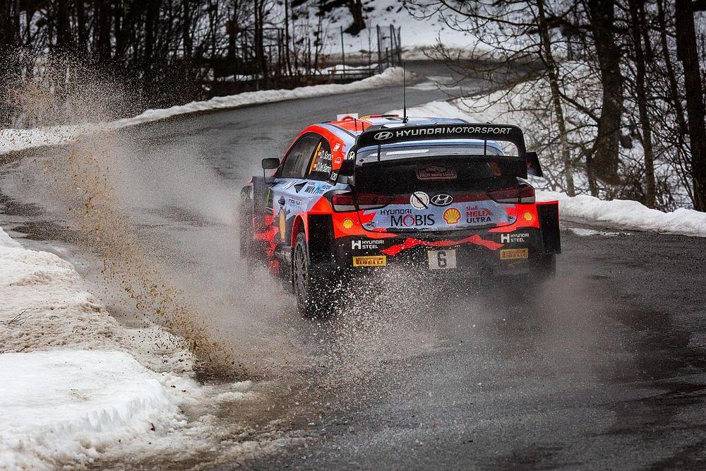 Las primeras fotos del WRC 2021 en el Rally de Montecarlo