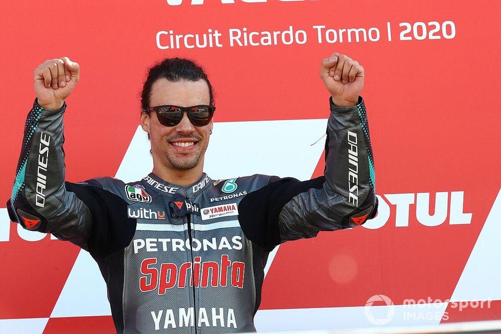 "Morbidelli hails ""best race in MotoGP"" after Valencia win"