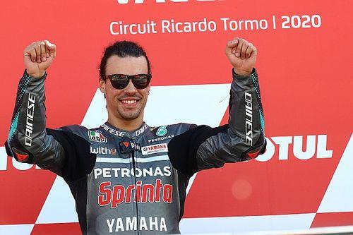 """Morbidelli Valencia'daki zaferini övüyor: """"MotoGP'deki en iyi yarışım"""""""