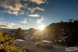 Los campeones del WRC 2020 ya prueban para el Montecarlo 2021