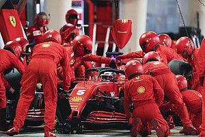 Ferrari explains cause of slow pitstops in 2020 F1 season