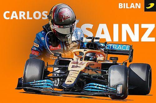 Bilan 2020 - Carlos Sainz est désormais un cadre