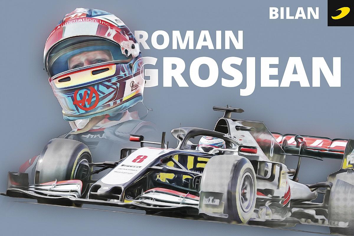 Bilan 2020 - La révérence du phénix Romain Grosjean