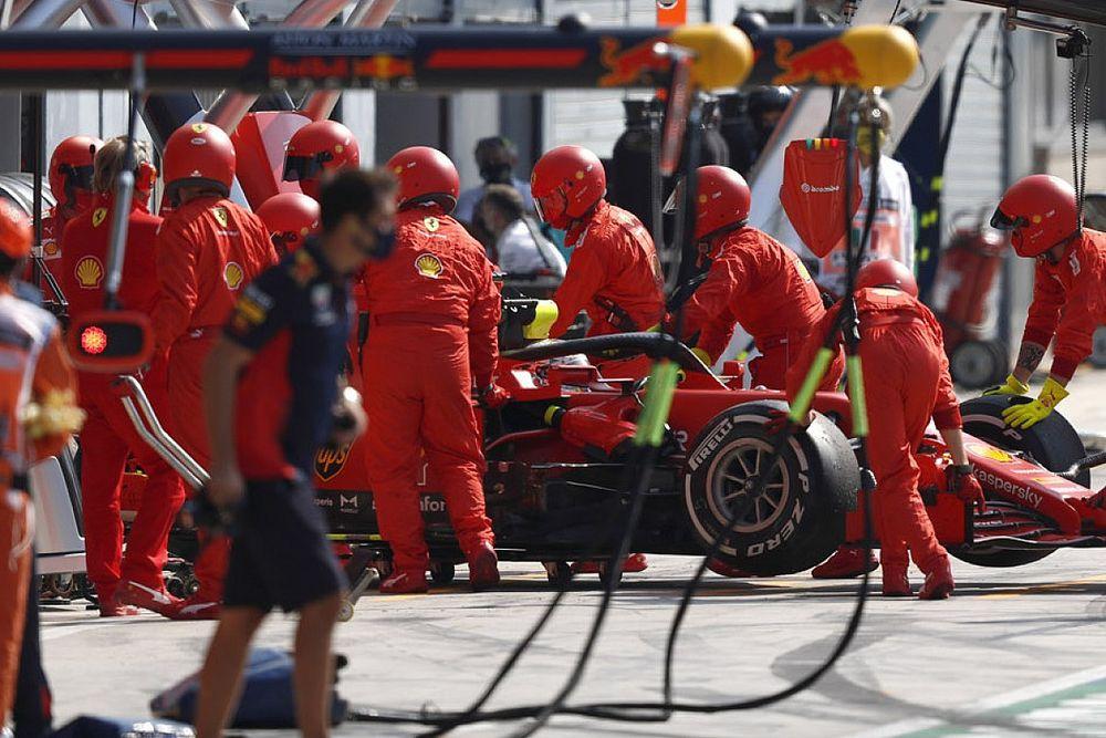 Бинотто пугает Формулу 1 множеством сходов в Сильверстоуне