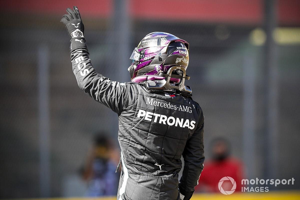 F1: Com pole em Mugello, Hamilton bate 'recorde' de Schumi só no período Mercedes; entenda