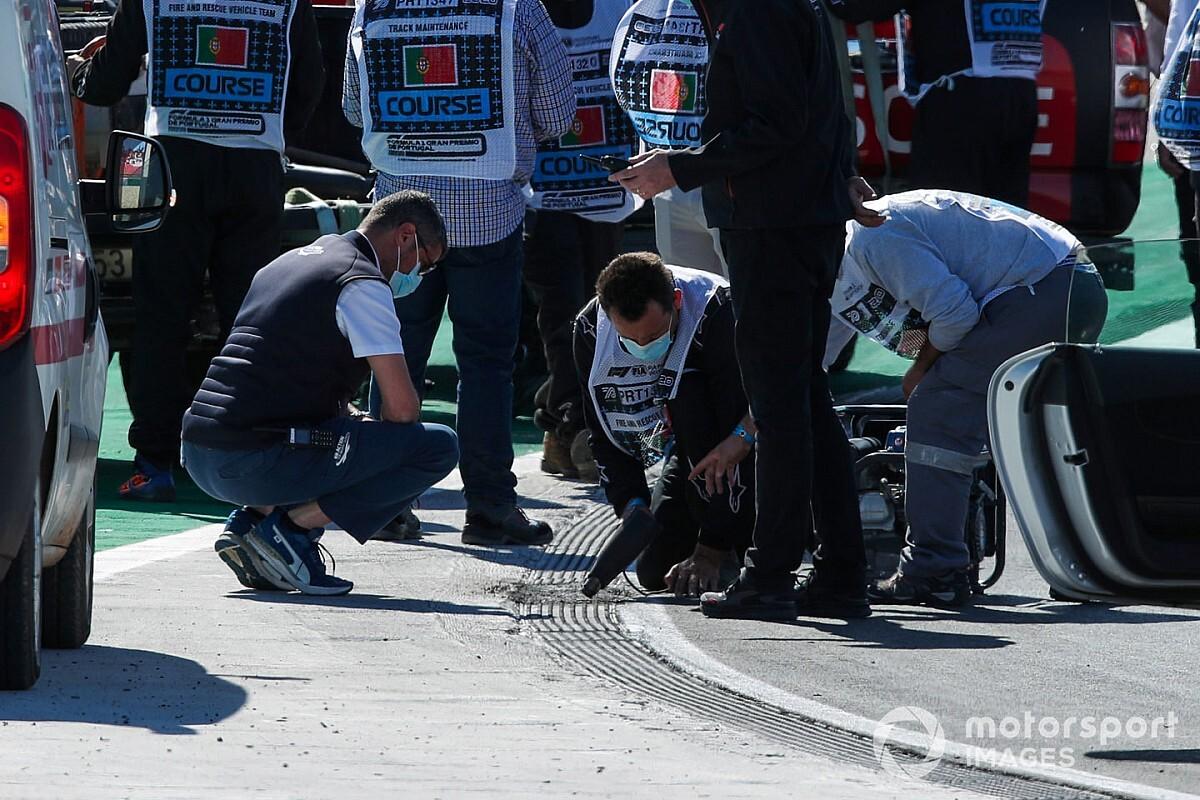 La FIA parle d'un incident inédit survenu à Portimão