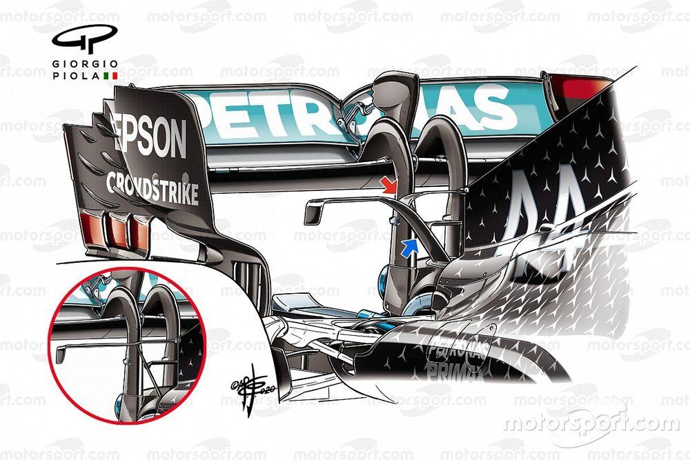 Mercedes'in Mugello'da 1-2 olmasını sağlayan güncellemeler