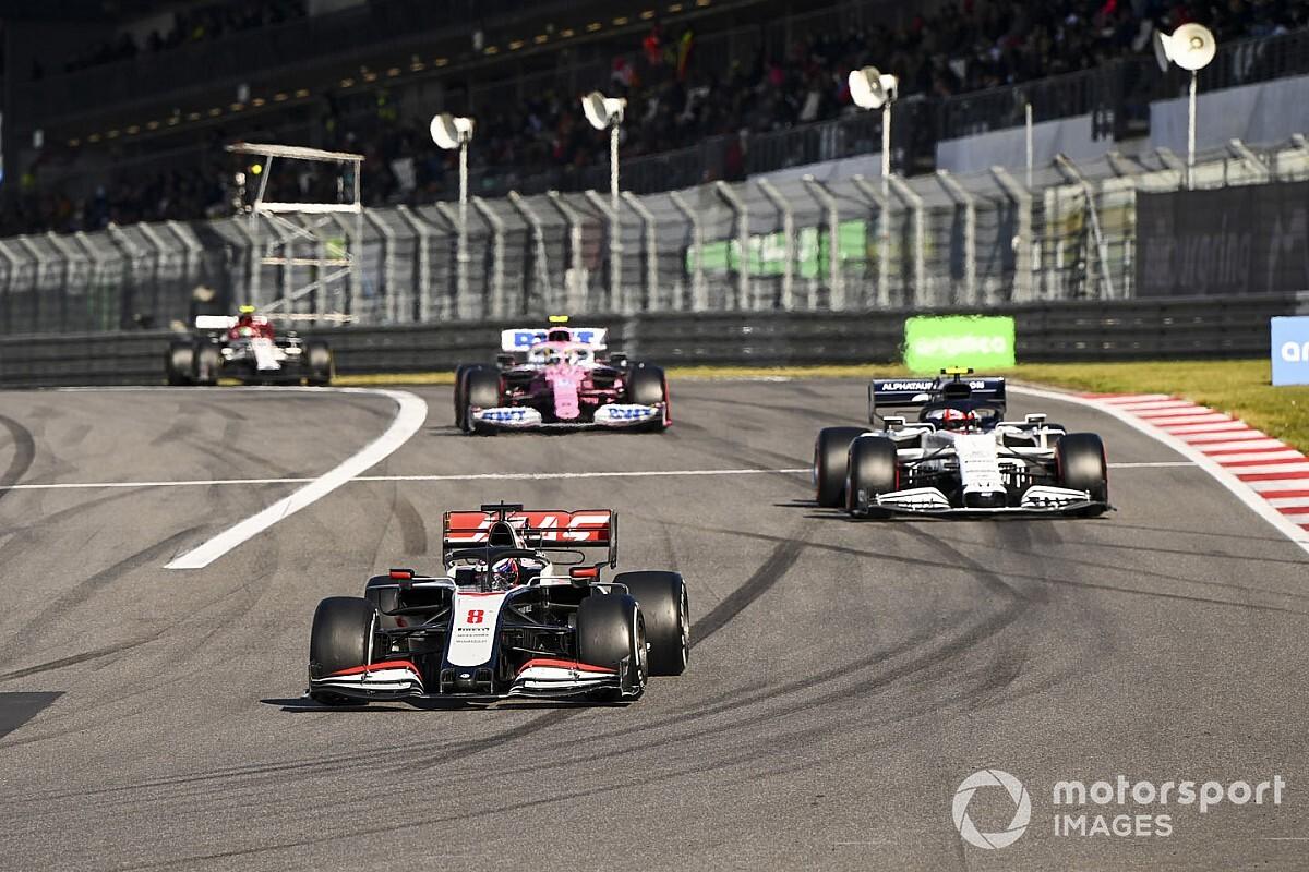Steiner: Prestatie Grosjean in de Eifel verandert niets voor 2021