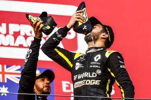 Ricciardo: Vierde plek leek maximaal haalbare in 'bizarre race'