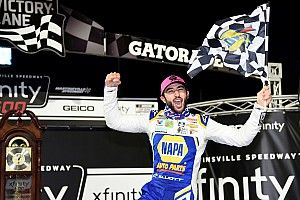 Elliott wins Martinsville, Harvick eliminated in dramatic finish