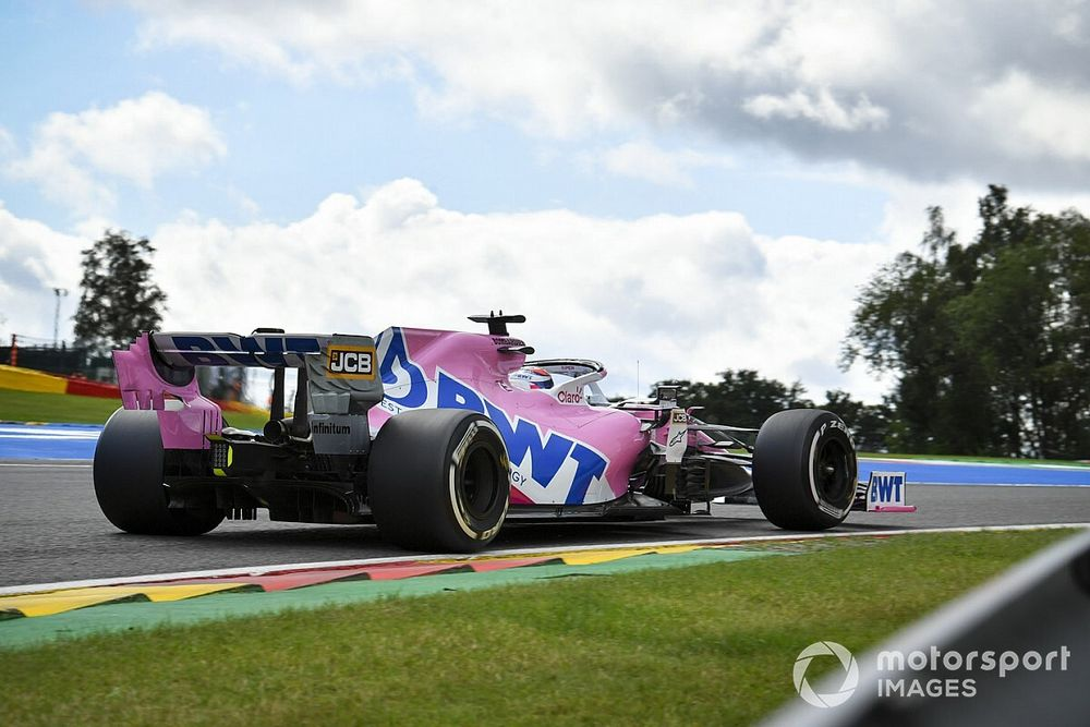 Racing Point explains failed qualifying strategy at Spa