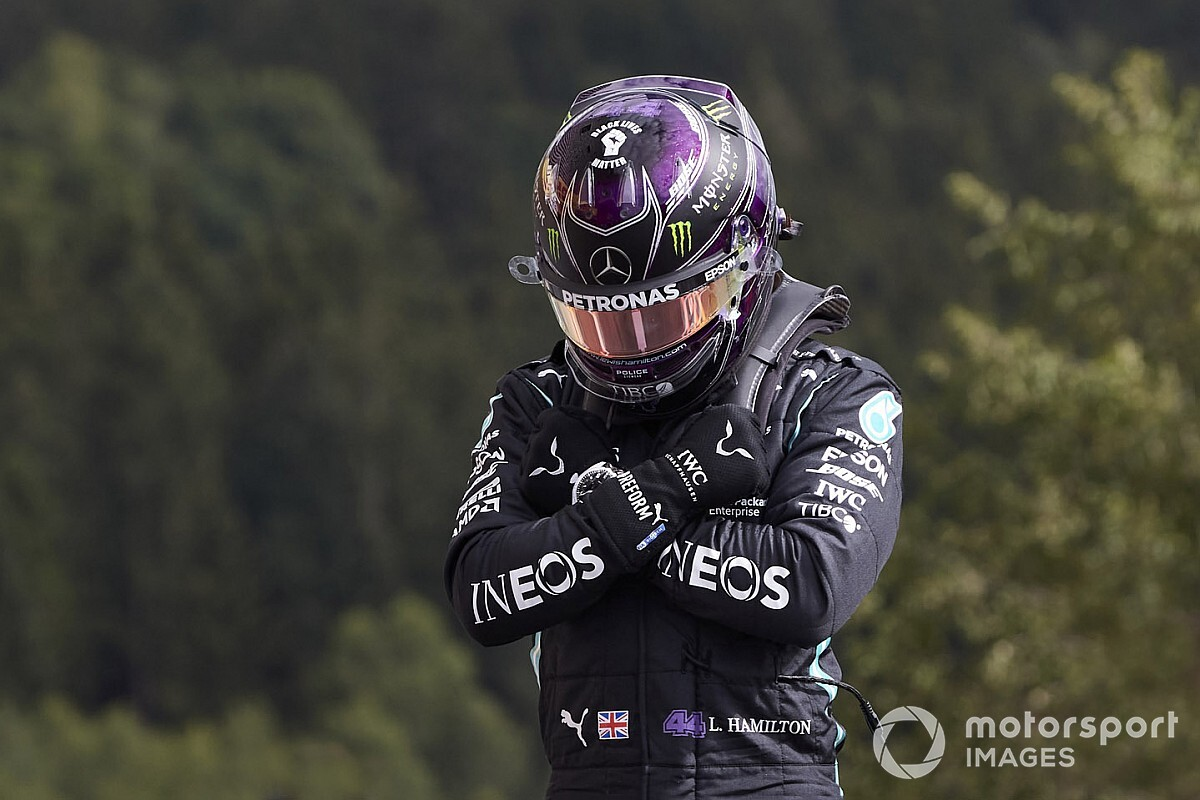 Hamilton met veel machtsvertoon naar pole, Verstappen P3 op Spa