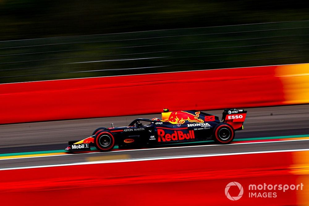 """Albon welcomes """"more predictable"""" Red Bull F1 car"""
