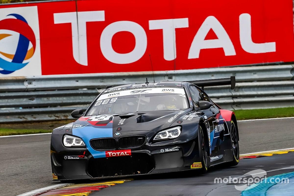 BMW dyktuje tempo w Spa