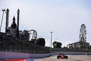 Clasificación del GP de Rusia F1: un horario cambiado