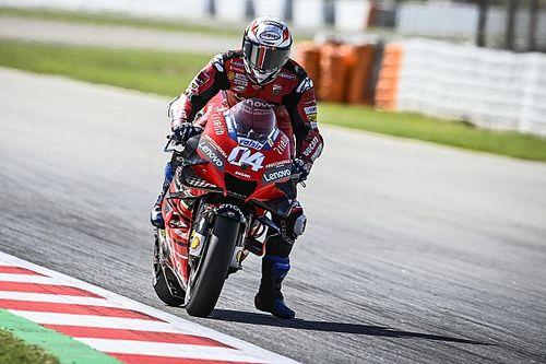 Dovizioso denkt niet aan titelstrijd 'tot we zelf snel zijn'