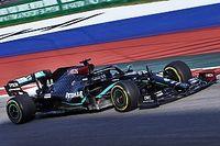 Hamilton leidt de dans in laatste training Rusland, Verstappen P6