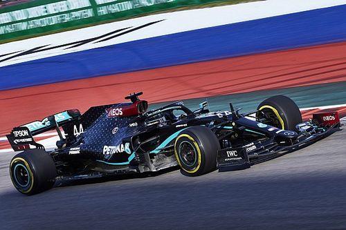 Russian GP: Hamilton leads Bottas by seven tenths in FP3